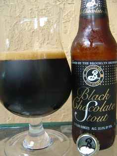Brooklyn Black Chocolate Stout -- I serve this with Salmon and Chocolate Pecan Pie :) -- @Josepf