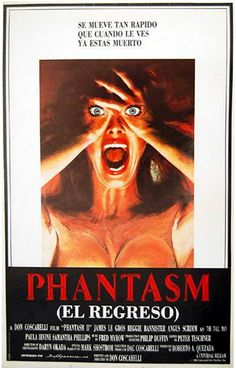"Phantasma II: El regreso (1988) ""Phantasm II"" de Don Coscarelli - tt0095863"