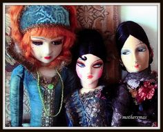 Ringlady, kuddles, egghead boudoir dolls | Flickr - Photo Sharing!