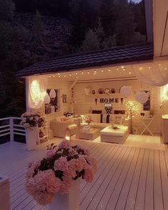 Likes, 74 Kommentare – Bente Furrebøe ( auf Insta … - Deutchland Club Outdoor Rooms, Outdoor Living, Gazebos, Pinterest Home, Backyard Patio Designs, Cozy Room, Dream Rooms, Home Deco, House Design