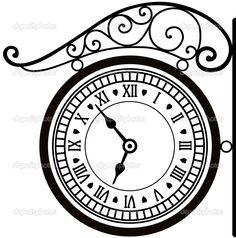 dep_6459784-Retro-street-clock.jpg (1014×1024)