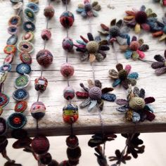 Some Sophie Digard necklaces have arrived - handmade treasure. #sophiedigard #handmade #looplondon #crochet