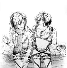 Mikasa & Eren