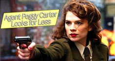 Agent Peggy Carter Looks for Less