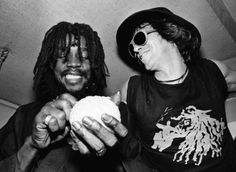 Peter Tosh and Keith Richards, NY 1979