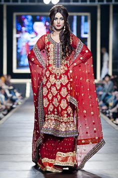 love this. Do a different color and no gharara.. just pants.. churidaar. The all over pattern is still in.