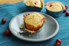Gluten free Cranberry orange muffin