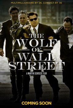 Belfort is portrayed by Leonardo DiCaprio in the upcoming Martin Scorsese film 'The Wolf of Wall Street'