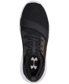 Under Armour Women's Moda Run Casual Sneakers from Finish Line - Black 7.5