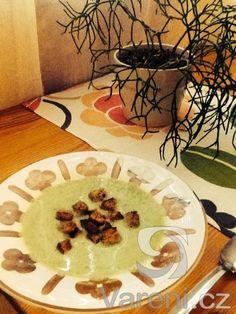 Nejlepší brokolicová polévka na světě. Vynikající recept. Food And Drink, Soup, Mexican, Ethnic Recipes, Soups, Mexicans