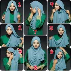 Loose hijab