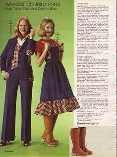 Juniors Fashion 1975 1970s Pinterest 1970s