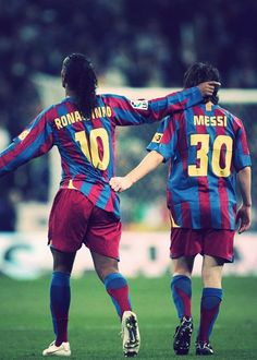 Ronaldinho  Messi 05/06
