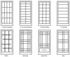 Custom Shoji Screens by Bush Woodcraft - Shoji Screens :::. Modern Window Design, Window Grill Design Modern, Grill Door Design, Door Gate Design, Modern Windows, Railing Design, Japanese Interior Design, Japanese Design, Asian Design