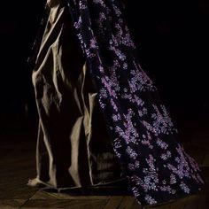 Saskia de Brauw closing the FW2015-2016 women's fashion show Paris, 4th March  @marionleflour