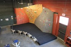 Asana Climbing Gym, Boise, ID - walls by Elevate Climbing Walls
