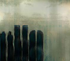 distortion of buildings;art