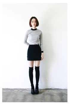 10 Stylish Ideas to Wear Over-the-Knee Socks Without Looking Like a School Girl | Preview.ph