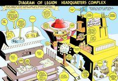 LIMITED COLLECTORS' EDITION C-49 (1976)  Bonus! A Complete Diagram Of Legion Headquarters!