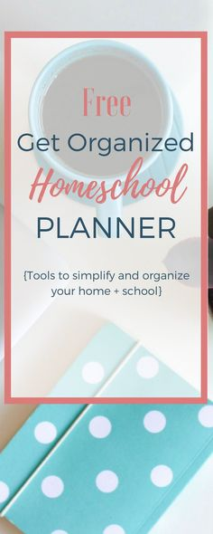 Sharing the tips I've learned after 6 kids and 14 years of homeschooling to keep my life, home, and homeschool simple and organized! Grab your free planner! #homeschool #planner #getorganized