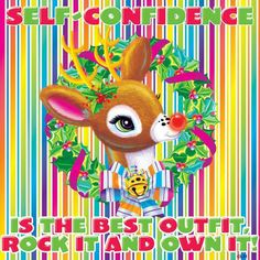Lisa Frank  Self-confidence