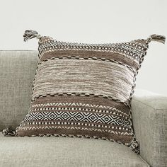 Wrightsville Throw Pillow Cover & Reviews | Joss & Main Accent Pillows, Floor Pillows, Bed Pillows, Toy Rooms, Cushion Pads, Joss And Main, Stripes Design, Throw Pillow Covers, Decorative Throw Pillows