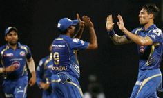 Mumbai pacer Mitchell Johnson said that he is quite satisfied with his rhythm.
