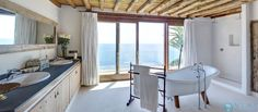 Luxury perched high on a cliff over looking the Mediterranean
