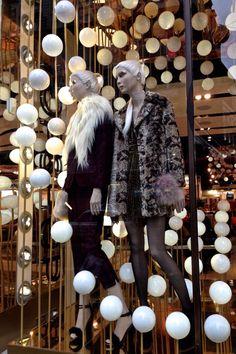 """Topshop, London,UK, """" Lisa,the snow is getting heavier"""", pinned by Ton van der Veer"""