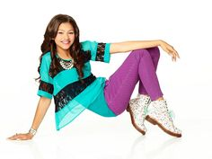 zendya from shake it up. I know she's supposed to be like 12, but her clothes on the show, amd here>>>>