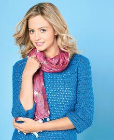 Easy Crochet Sweater - free pattern