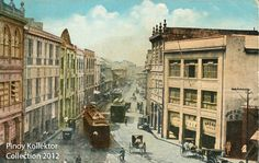 Pinoy Kollektor: Philippine TRAMVIAS (Street Cable Cars) in Postcards. Pinoy's first modern transportation Philippines Culture, Manila Philippines, Philippine Architecture, Intramuros, Filipiniana, Spanish Culture, How To Speak Spanish, Post Card, Pinoy