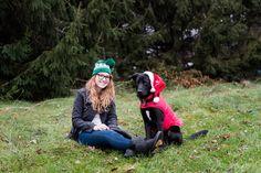 Toledo Ohio Photography | Pet Photography | Christmas Card Photos | Santa Paws | Black Lab | Labrador Retriever | Rescue Dog