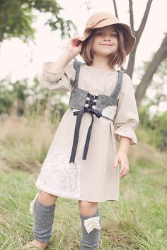 LOVE the little dirndl thing...