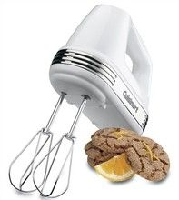 Cuisinart Power Advantage White Hand Mixer with Recipe Book - The Home Depot Cinnamon Crumb Cake, Facebook Recipe, Carrot Cake Muffins, Free Keto Recipes, Hand Mixer, Thing 1, Hand Blender, Most Popular Recipes, Kitchen Utensils