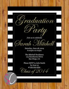Black and gold graduation party gold grad parties and graduation black and gold graduation party gold grad parties and graduation ideas filmwisefo Choice Image