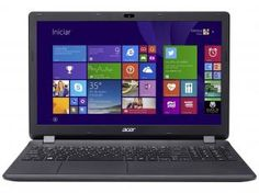 Notebook Acer Aspire ES1 com Intel Quad Core - 4GB 500GB Windows 8.1 LED 15,6 HDMI