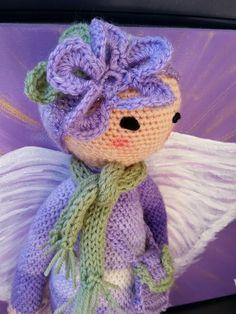 flower girl mod made by Brit S. / based on a lalylala crochet pattern