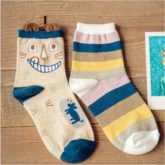 2 пара мода женские теплые носки хлопок носки зимой милый мультфильм совершенно носки, Высокое качество бесплатная доставка купить на AliExpress