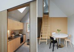 Portes coulissantes_Summerhouse Lagnö par Tham & Videgard Arkitekter - Journal du Design                                                                                                                                                                                 Plus