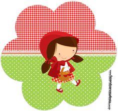Flor Chapeuzinho Vermelho