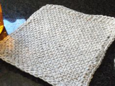 Although to the untrained eye this Tunisian Simple Stitch dishcloth may look calm, cool and collected, I was anything but. Note to self: begin planning Christmas gifts earlier next time to prevent being worked into a tizzy!