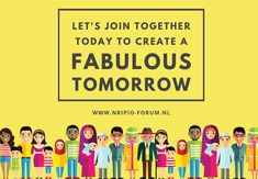 Let's Join Together Today To Create A Tomorrow. Visit: www. Community Quotes, Tuesday Motivation, Trust, Join, Let It Be, Thoughts, Create, Tanks, Ideas