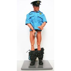 """""""Abuse Of Power"""" a limited edition sculpture concerning corruption and law enforcement."""