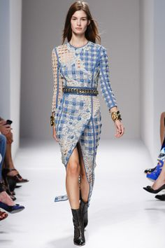 Balmain Primavera / Verano 2014 Ready-To-Wear