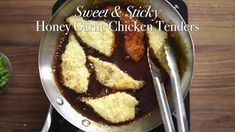 Honey Garlic Chicken Strips Recipe Sweet and Sticky Chicken Tenders Easy Chinese Chicken Recipes, Chicken Strip Recipes, Chicken Tender Recipes, Chicken Strips, Sticky Recipe, Best Recipe Box, Baked Chicken Tenders, Sticky Chicken, Chili Garlic Sauce