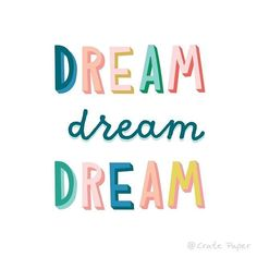 What is your ultimate dream!?