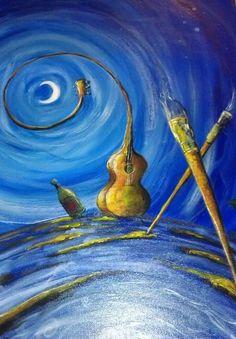 Pawleys Island Festival Music Art Winning Painting Marsh March