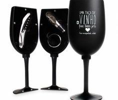 Kit vinho taca - bem acompanhado | Loja Virtual Uatt?