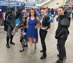 Mass Effect - some nice ensemble cosplay